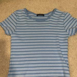 brandy melville blue shirt